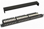 COMMSCOPE AMP Category 5E Patch Panel, Unshielded, 24-Port, SL