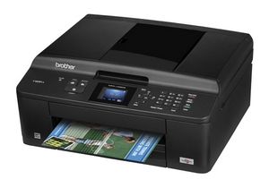 Máy in Brother MFC J430W, In, Fax, Copy, Scan, PC Fax, Wifi