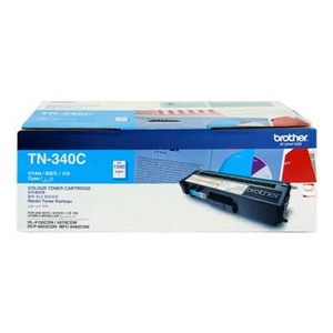 Mực in Brother TN 340C Cyan Toner Cardtidge