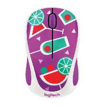 Chuột quang không dây Logitech Wireless Mouse M238 Party Cocktail